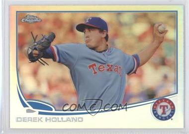 2013 Topps Chrome Refractor #53 - Derek Holland
