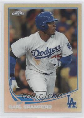 2013 Topps Chrome Refractor #56 - Carl Crawford