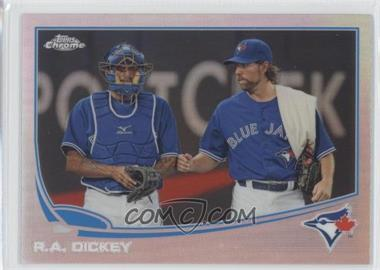 2013 Topps Chrome Refractor #62 - R.A. Dickey