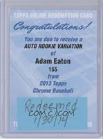 Adam Eaton [REDEMPTIONBeingRedeemed]