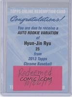 Hyun-jin Ryu [REDEMPTION Being Redeemed]