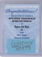 Hyun-jin Ryu /199 [REDEMPTIONBeingRedeemed]
