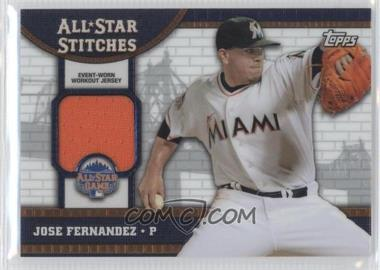 2013 Topps Chrome Update - All-Star Stitches #ASR-JF - Jose Fernandez