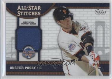 2013 Topps Chrome Update Series All-Star Stitches #ASR-BP - Buster Posey