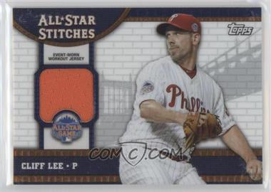 2013 Topps Chrome Update Series All-Star Stitches #ASR-CL - Cliff Lee