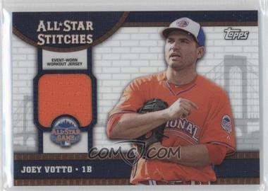 2013 Topps Chrome Update Series All-Star Stitches #ASR-JVO - Joey Votto