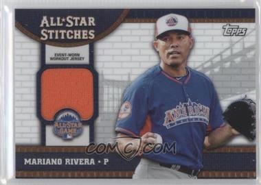 2013 Topps Chrome Update Series All-Star Stitches #ASR-MR - Mariano Rivera