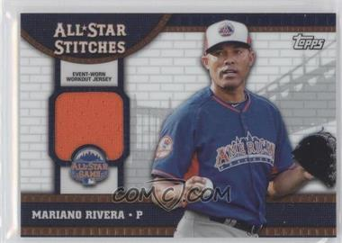 2013 Topps Chrome Update Series All-Star Stitches #ASR-MR - Mariano Rivera