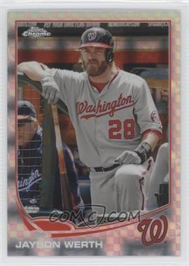 2013 Topps Chrome X-Fractor #41 - Jayson Werth