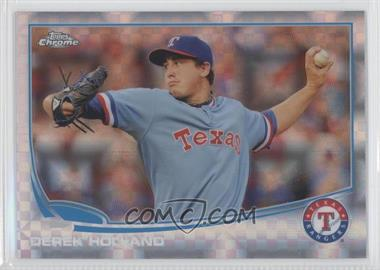 2013 Topps Chrome X-Fractor #53 - Derek Holland