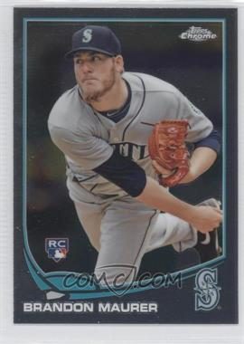 2013 Topps Chrome #102 - Brandon Maurer