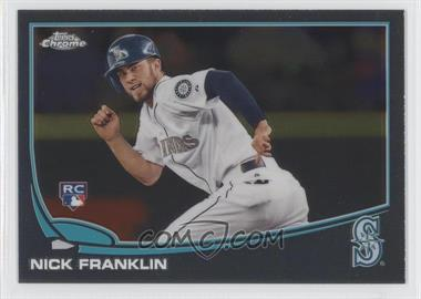 2013 Topps Chrome #154 - Nick Franklin
