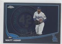 Matt Kemp (Jackie Robinson Sign)