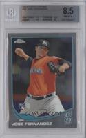 Jose Fernandez (Mariners Logo Incorrectly Pictured) [BGS 8.5]