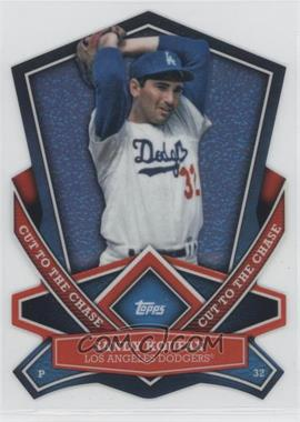 2013 Topps Cut to the Chase Die-Cut #CTC-48 - Sandy Koufax