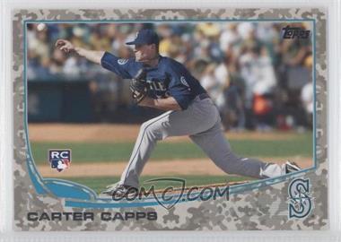2013 Topps Desert Camo Foil #157 - Carter Capps /99