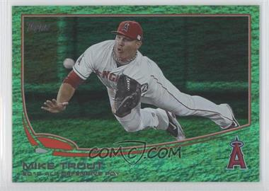 2013 Topps Emerald Foil #536 - Mike Trout