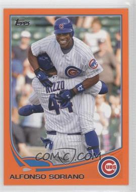 2013 Topps Factory Set [Base] Orange #584 - Alfonso Soriano /230