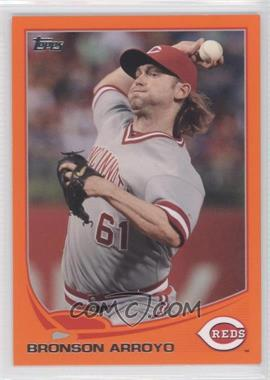 2013 Topps Factory Set Orange #161 - Bronson Arroyo /230