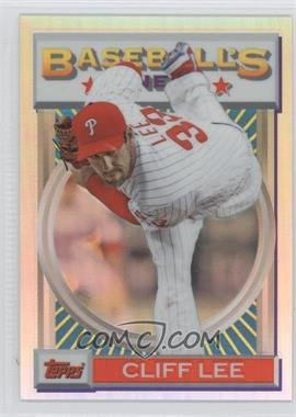 2013 Topps Finest - 1993 Topps Finest Design - Refractor #93F-CL - Cliff Lee /25