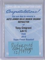 Tony Cingrani /99 [REDEMPTIONBeingRedeemed]