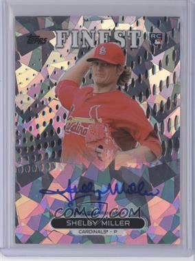 2013 Topps Finest - Autograph Rookie Refractor - Atomic #RA-SM - Shelby Miller /5