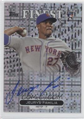 2013 Topps Finest - Autograph Rookie Refractor - X-Fractor #RA-JF - Jeurys Familia /149