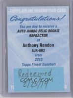 Anthony Rendon [REDEMPTION Being Redeemed]