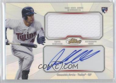2013 Topps Finest Autographed Jumbo Relic Rookies Refractor [Autographed] #AJR-OA - Oswaldo Arcia