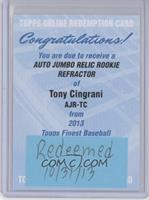 Tony Cingrani [REDEMPTION Being Redeemed]