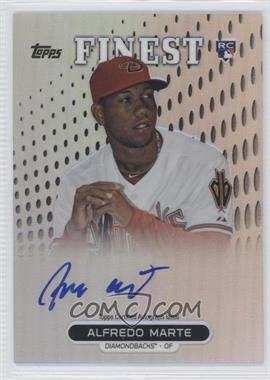 2013 Topps Finest Autographed Rookies Refractor #RA-AM - Alfredo Marte