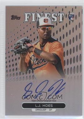 2013 Topps Finest Autographed Rookies Refractor #RA-LH - L.J. Hoes