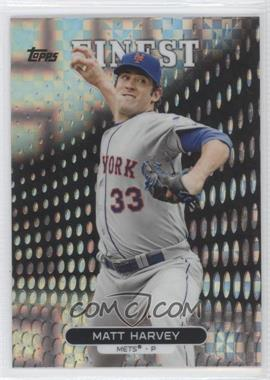 2013 Topps Finest X-Fractor #76 - Matt Harvey