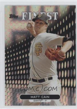 2013 Topps Finest X-Fractor #88 - Matt Cain