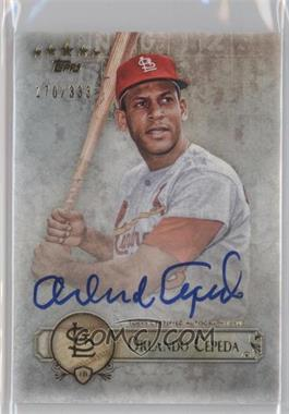 2013 Topps Five Star - Retired and Active Player Autographs #FSBA-OC - Orlando Cepeda /333