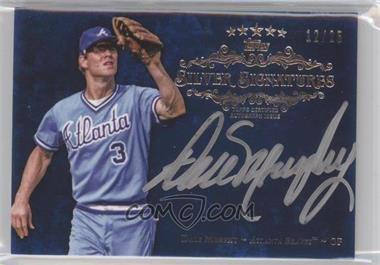 2013 Topps Five Star - Silver Signatures - Blue #FSSS-DM - Dale Murphy /25