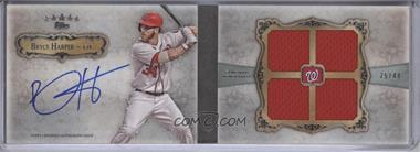 2013 Topps Five Star 4-Piece Signature Book #FSBA4-BH - Bryce Harper /49