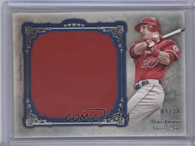 2013 Topps Five Star Jumbo Jersey Relic Blue #FSJJR-MT - Mike Trout /30