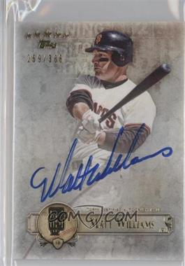 2013 Topps Five Star Retired and Active Player Autographs #FSBA-MW - Mac Williamson /386