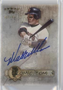 2013 Topps Five Star Retired and Active Player Autographs #FSBA-MW - Matt Williams /386