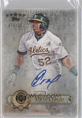 2013 Topps Five Star Retired and Active Player Autographs #FSBA-YC - Yoenis Cespedes /353