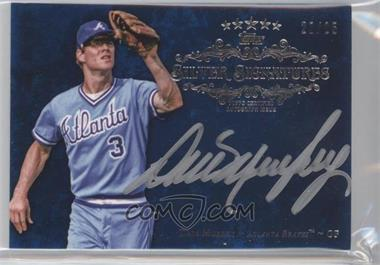 2013 Topps Five Star Silver Signatures Blue #FSSS-DM - Dale Murphy /25