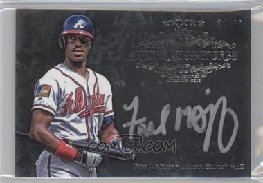 2013 Topps Five Star Silver Signatures #FSSS-FM - Fred McGriff /65