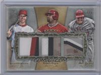 Josh Hamilton, Albert Pujols, Mike Trout /5