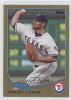 Colby Lewis /2013