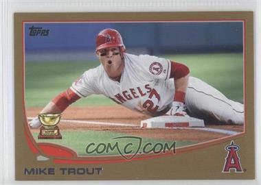 2013 Topps Gold #27 - Mike Trout /2013