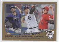 2012 AL Earned Run Average Leaders (David Price, Justin Verlander, Jered Weaver…