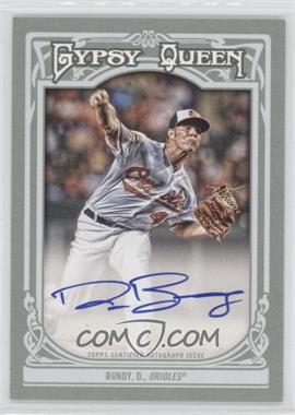 2013 Topps Gypsy Queen - Autographs - [Autographed] #GQA-DB - Dylan Bundy
