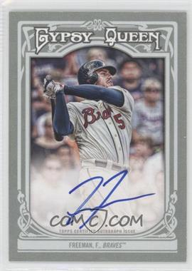 2013 Topps Gypsy Queen - Autographs - [Autographed] #GQA-FF - Freddie Freeman