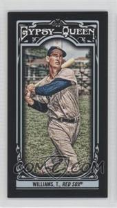 2013 Topps Gypsy Queen - [Base] - Mini Black #330 - Ted Williams /199